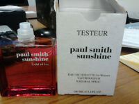 Paul Smith ladies Sunshine EDT 100ML tester - never been used