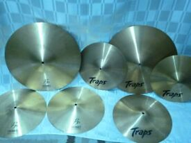 CYMBALS – SELECTION FROM £15