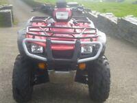 Honda TRX500 FA farm quad