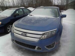 2010 FORD FUSION SPORT AWD/Cuir/Toit/Bluetooth/Cruise