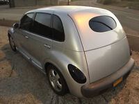 2001 1 off custom moddified PT Cruiser Long MOT great driver 2.0 cc petrol with Private Plate
