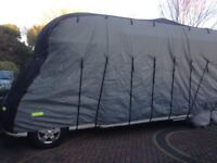 Motorhome Cover For Sale Grey/Black Large