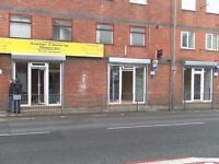 Nail shop furnished ready for business on Rice Lane, L9 1DJ viewing recommended - elec shutters
