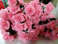 X 10 joblot bundle of artificial flower bouquets