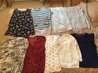 Ladies Tops. Size 14 Fashionable Bundle-Includes: NEXT, Wallis, Dorothy Perkins, River Island!