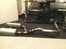 Honda crf 450 full exhaust system