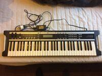 Korg X50 Music Synthesizer 61 Keys Keyboard + Bag + Stand + Manual + Disc