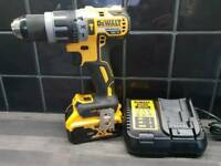 DeWALT DCD796 BRUSHLESS COMBI DRILL, 18V, XR, Li-ion + 5ah battery + RAPID CHARGER____makita