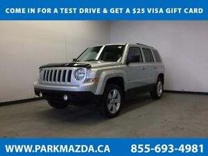2013 Jeep Patriot North 4x4 - Remote Start, Heated Front Seats,