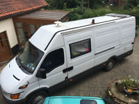 Iveco Daily XLWB Fully Equipped Motorhome with long MOT until July 2018