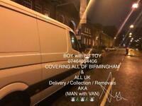 MAN with VAN - 07464054406 / BIRMINGHAM