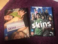 Skins Season 1 and 2