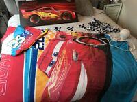 Lightening McQueen boys bedroom bundle