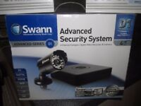 "SWANN ADVANCED SECURITY SYSTEM WITH "" EXTRA CAMERAS BRAND NEW NEVER BEEN OUT OF THE BOX"