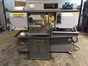 HORIZONTAL BAND SAW / HYD-MECH 13 X 18 (USED)