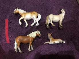 Groups of Schleich Horses