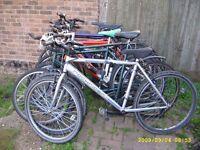 Used bike GT specialized Carrera, Marin, Giant, electric bike fold-able bike, aluminum.