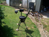 shooting swivel chair with 3 mount holes