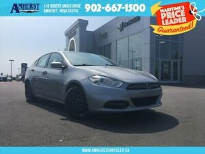 2014 Dodge Dart 6 SPEED AUTOMATIC, CD PLAYER, A/C, GREAT ON GAS