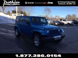 2015 Jeep WRANGLER UNLIMITED Sahara 4x4 | LEATHER | DUAL TOPS |