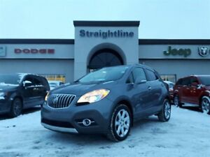 2014 Buick Encore Fully Loaded, Local Trade, Pristine and Low Km