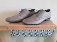 Brand New River Island Smart Grey Shoes - UK 7