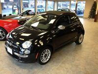 2013 Fiat 500C LOUNGE 550c CONVERTIBLE/LEATHER CALL BELLEVILLE $