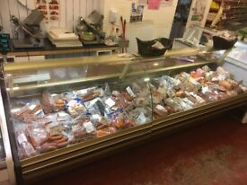 Over Counter Meat Fridge