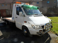 MERCEDES SPRINTER 311 CDI TWIN WHEEL RECOVERY X REG MOT FEB 2017