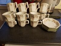 Eternal Beau China mugs, cups and saucers