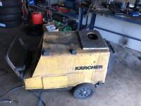 Karcher 2900psi HDS750 hot washer