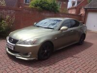 Lexus Is 220d. 2006. Sport body kit