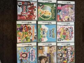 DSI XL games