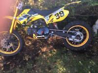 125 big wheel pitbike Non runner
