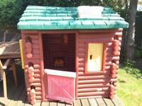 Little tikes Log cabin for sale!