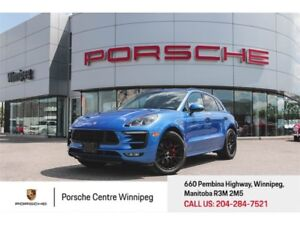 2017 Porsche Macan GTS Certified Pre-Owned With Warranty Availab