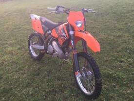 KTM 250EXC 2006 road legal enduro