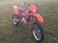 KTM 250EXC 2006 road legal enduro