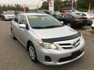 2012 Toyota Corolla CE Upgrade ONLY $99 BIWEEKLY WITH $0 DOWN!