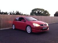 2004 Honda Civic 1.4 (Type R Replica) 63,000 miles.