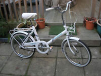 Very Rare Classic Raleigh cycle shopper with prop stand