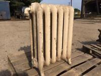 9 cast iron radiators