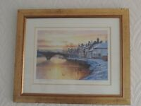 Limited edition picture: Winter Sunrise Bewdley by Rod Willis