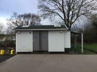 Toilet & Washbasin block...ideal camping/building/construction/sport site.