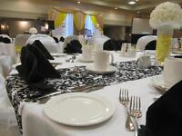 For All Your Wedding Linen Needs
