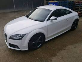 Audi TT Coupe with private number plates