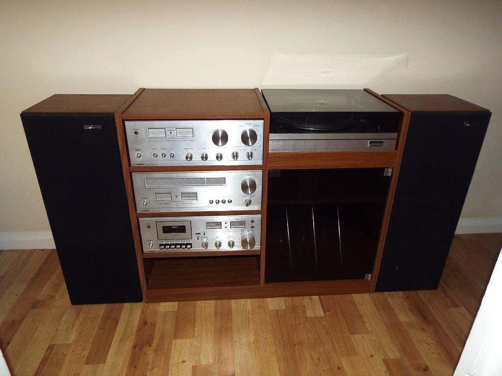 Vintage Ferguson Hi Fi System 25 Turntable Amplifier