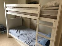 White bunk beds for sale