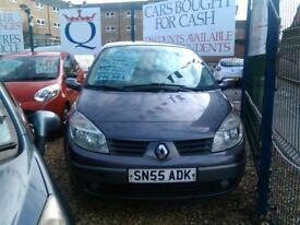 2006 Renault Megan scenic 1.5 diesel only 61.000 miles 5 door hatch back full history full mot very
