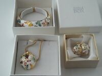 Nina Earings Pendant and Bangle to be sold separately if needed.